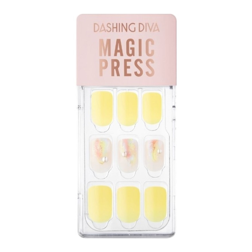 DASHING DIVAMP Yellow Spring Mani Rainbow Touch MWK101,Nail AccessoryVOUCHER RM5 OFF COSMETIC