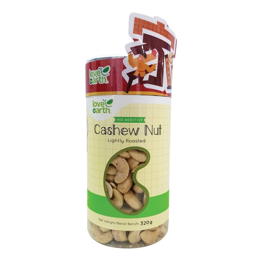 LOVE EARTHRoasted Natural Cashew Nut 320g,ECOUPON RM13 OFF