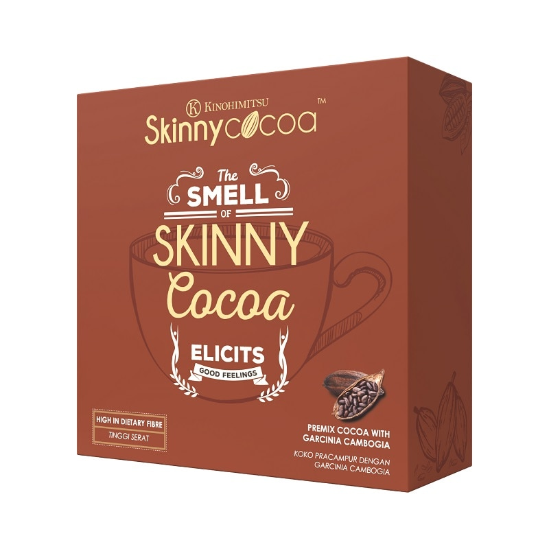 KINOHIMITSUSkinny Cocoa 14's,ECOUPON RM8 OFF DECPOINT REDEMPTION