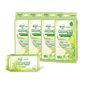 HEARTTEXHearttex Mini Wipes 64s X 4 Pck (Green Tea),POINT REDEMPTIONPWP @ RM5 IS