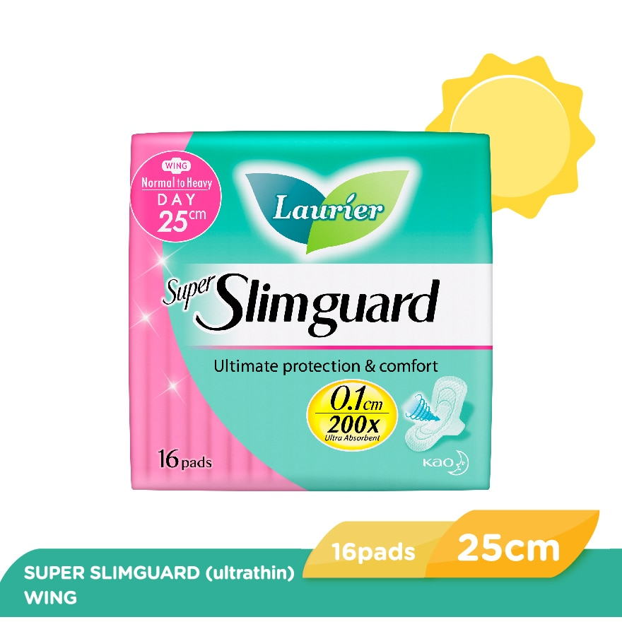 LAURIERLaurier Super Slimguard Normal To Heavy Day,PWP @ 30% AUG
