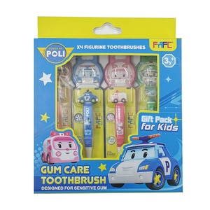 FAFCFigurine Toothbrush 4 In 1-Robocar Poli,POINT REDEMPTIONPWP @ RM5 IS