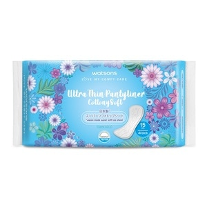 WATSONSUltra-Thin Pantyliner Unscented 40's,VOUCHER RM5 OFF OL