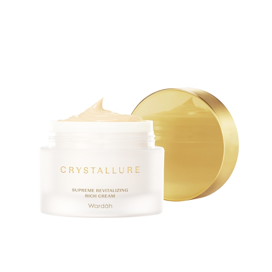 WARDAHCrystallure Supreme Revitalizing Rich Cream 50g,ECOUPON RM10 OFF FACIALGWP DHC DBL C/TRIAL KIT ECOM