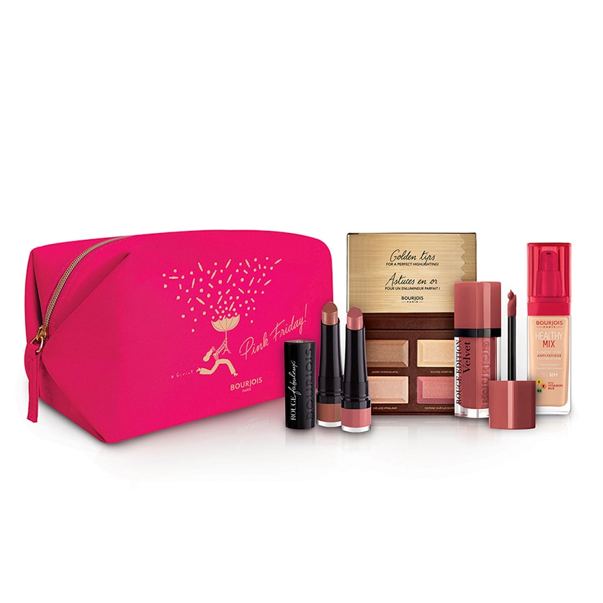 BOURJOISPink Friday Pouch Set,ECOUPON RM38 OFF CNYECOUPON RM18 OFF CNY