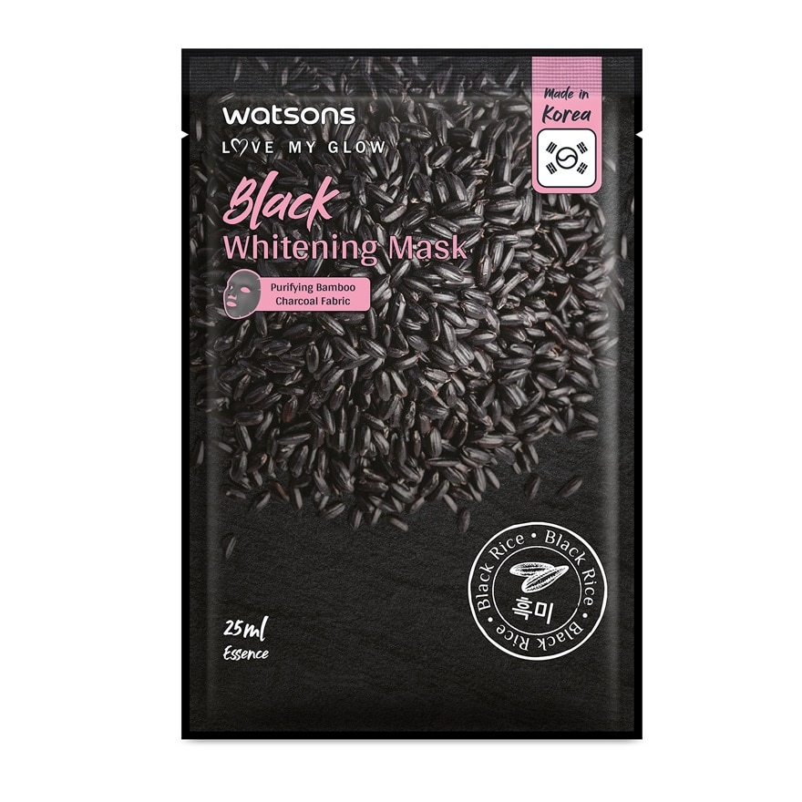 WATSONSBlack Whitening Mask 1s,FREE GIFTGET 2X POINTS T&G TMP