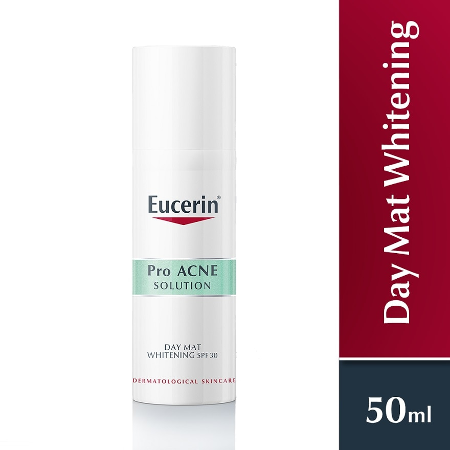 EUCERINPro Acne - Day Mat Whitening 50ml,GET 2X POINTS T&G TMPECOUPON RM10 OFF FACIAL