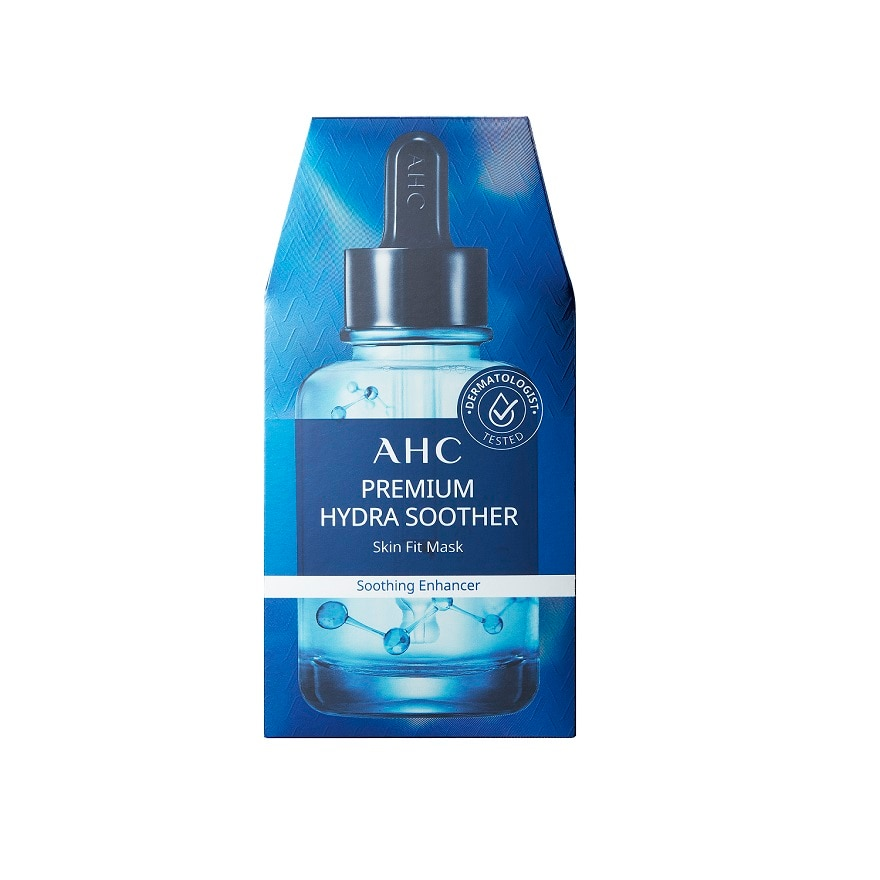 AHCPremium Hydra Soother Skin Fit Mask 5S,GWP CRYSTAL SACHET ECOMGWP EFT MNY GARNIER ECOM