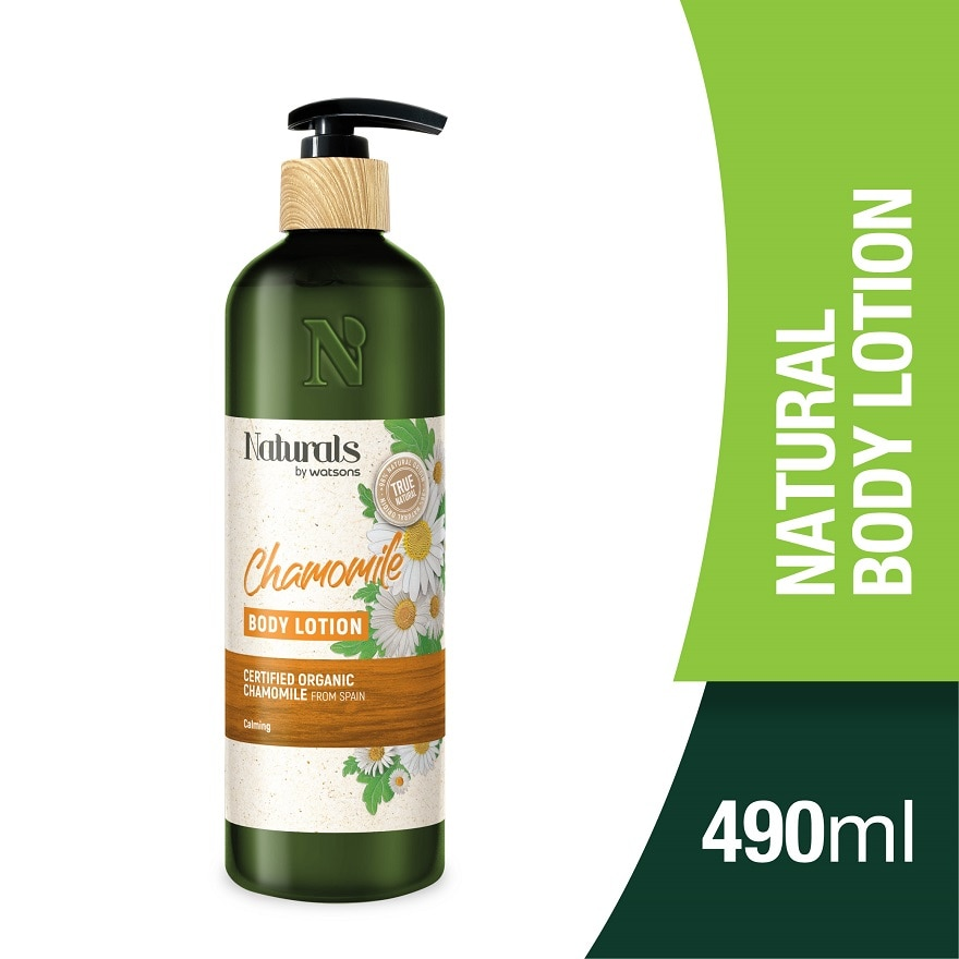 NATURALS BY WATSONSChamomile Body Lotion 490ml,ECOUPON RM10 OFF ECOMECOUPON RM7 OFF ECOM