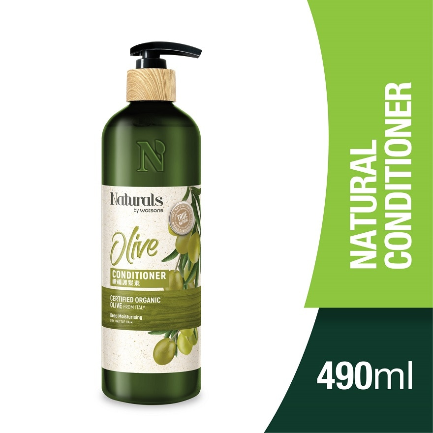 NATURALS BY WATSONSOlive Conditioner 490ml,