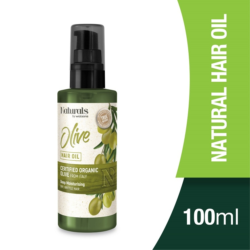 NATURALS BY WATSONSOlive Hair Oil 100ml,VOUCHER RM5 OFF OLVOUCHER RM5 OFF OL