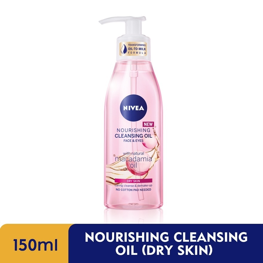 NIVEANourishing Cleansing Oil (Dry Skin) 150ml,PWP @ 50% ISGET 5X POINTS MAR TMP