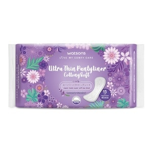 WATSONSUltra Thin Pantyliner 150mm 40's,ECOUPON RM5 OFF WATSONSVOUCHER RM5 OFF OL