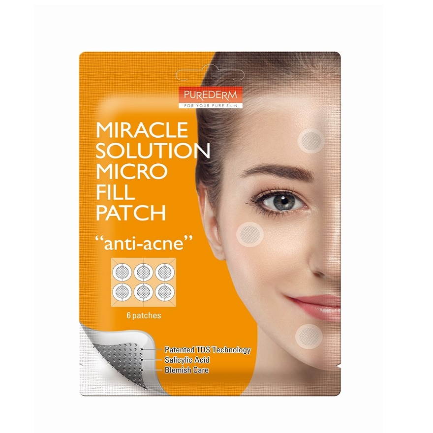 PUREDERMMiracle Solution Micro Fill Patch Anti Acne,ECOUPON RM13 OFFGWP BIFESTA BEAUTY PACK ECOM
