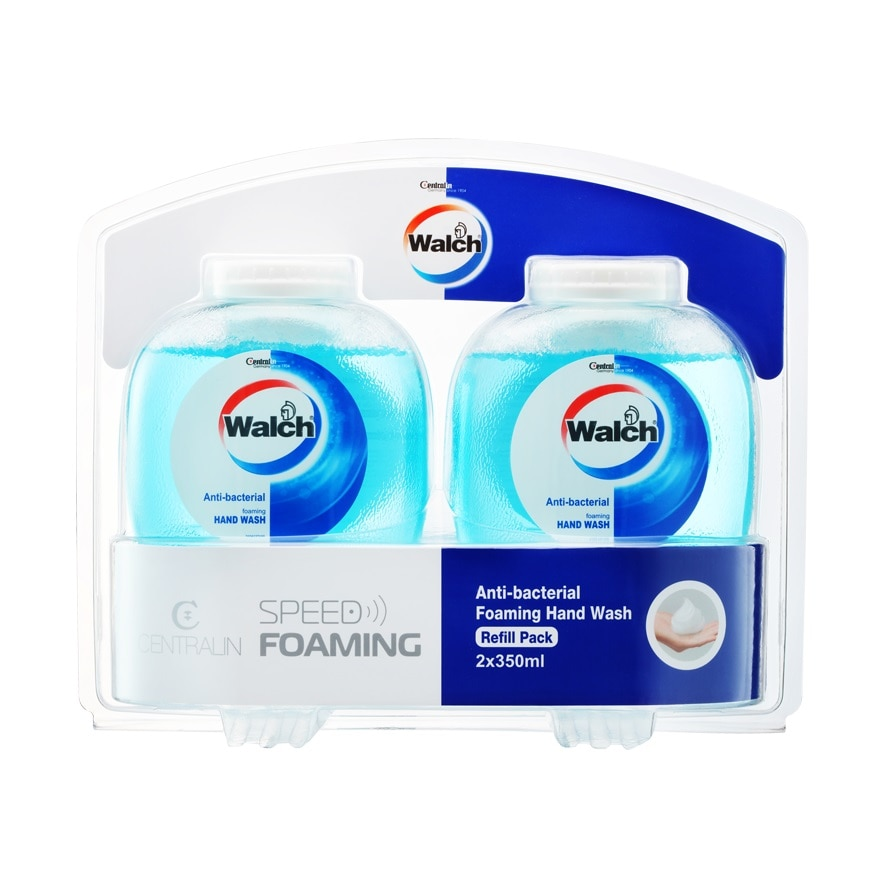 WALCHAnti-bacterial Speed Foaming H/W Refill Pack,VOUCHER RM3 OFF WALCHECOUPON RM3 OFF WALCH