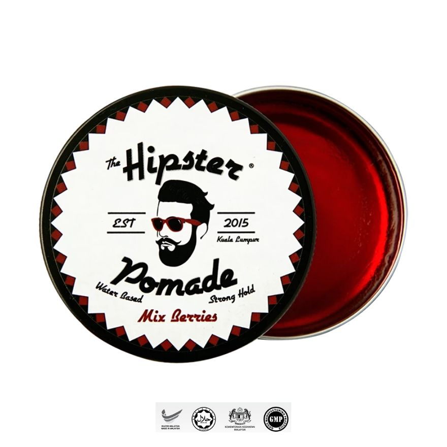 HIPSTERPomade Mix Berry 100g,MBR ECOM ADD 10% OFF MAY21MBR ECOM ADD 10% OFF MAY21