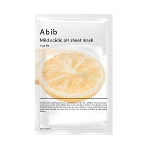 ABIBMild Acidic pH Sheet Mask Yuja Fit 1S,POINT REDEMPTIONFREE GIFT