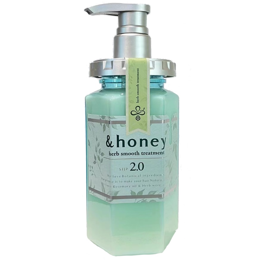 ANDHONEYHerb Smooth Treatment 440ml,POINT REDEMPTIONECOUPON RM18 OFF JAN21