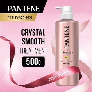 PANTENEMiracles Conditioner Crystal Smooth 500ml ,GWP HE JUTE BAG ECOMGWP PANT ZIPPER POUCH 1S ECOM