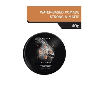 BADLABMatte Max Water-based Pomade 40g,Hairspray & Styling ProductsECOUPON RM13 OFF