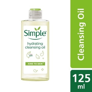 SIMPLEHydrating Cleansing Oil 125ml,MBR ECOM ADD 10% OFF MAR21ECOUPON RM10 OFF FACIAL