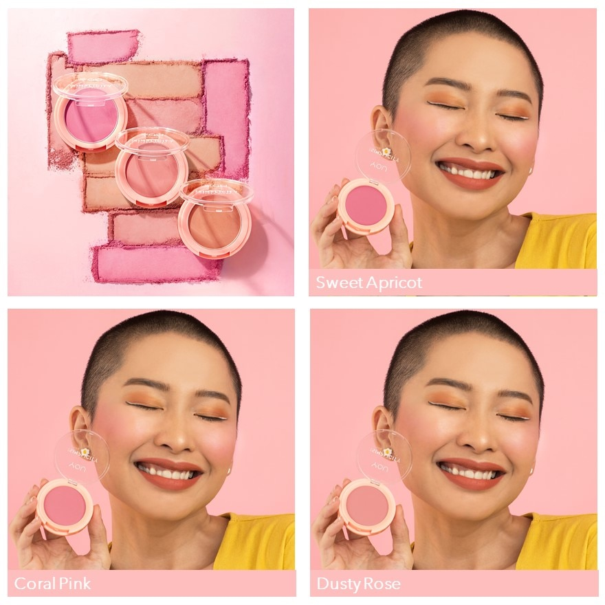 Y.O.USim Flush Blush 01 Sweet Apricot,ECOUPON RM8 OFF DECPOINT REDEMPTION
