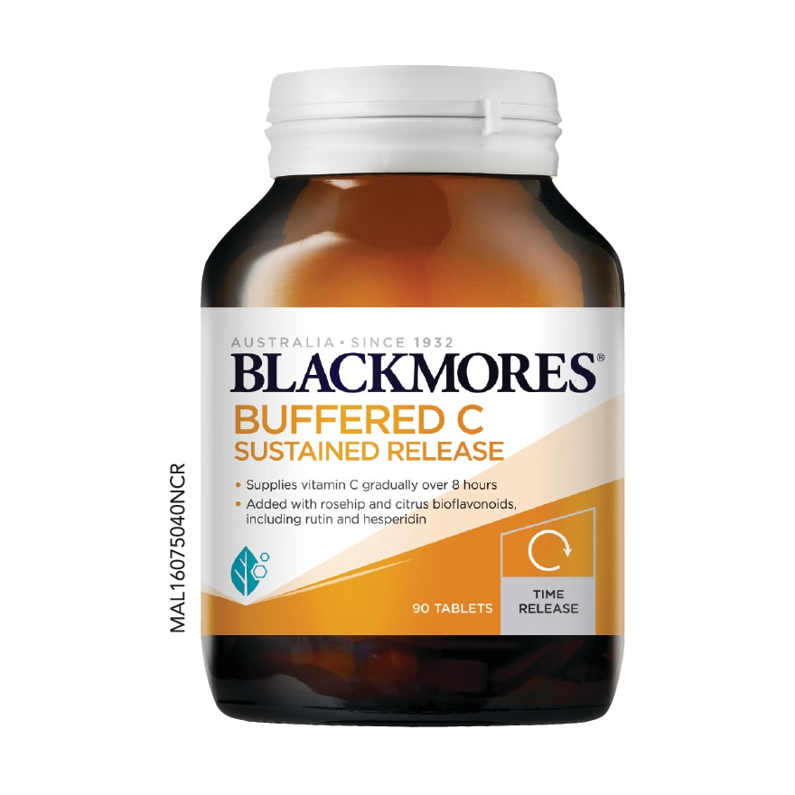 BLACKMORESBuffered C Sustained Release 90s,Health45+MEMBER @ 5% TMP HEALTH ECOM