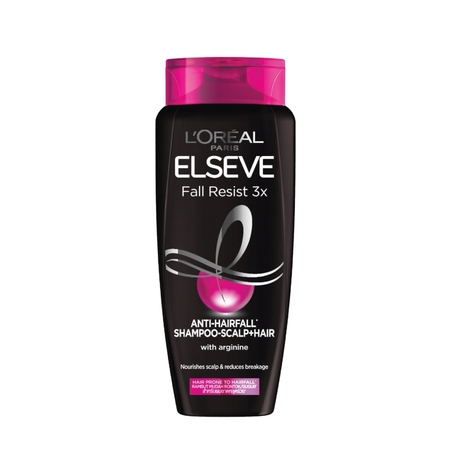 ELSEVEElseve Fall Resist x3 Shampoo 280ml,ECOUPON RM8 OFF DECPOINT REDEMPTION