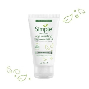 SIMPLERegeneration Age Resisting Day Cream 50ml,GWP SIMPLE CLEANS WIPES ECOM