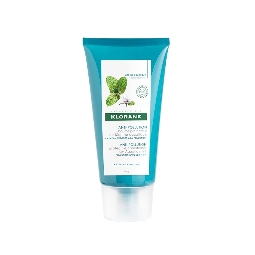 KLORANEAnti-Pollution Protection Conditioner with Aquatic Mint,ECOUPON RM5 OFF KLORANEECOUPON RM5 OFF KLORANE
