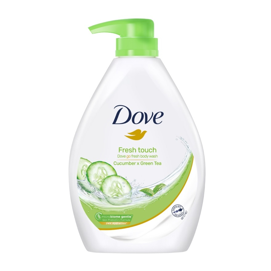DOVEGo Fresh Fresh Touch Shower Gel 1L,GWP DOVE  UMBREALLA ECOMGWP DOVE CUTLERY SET ECOM