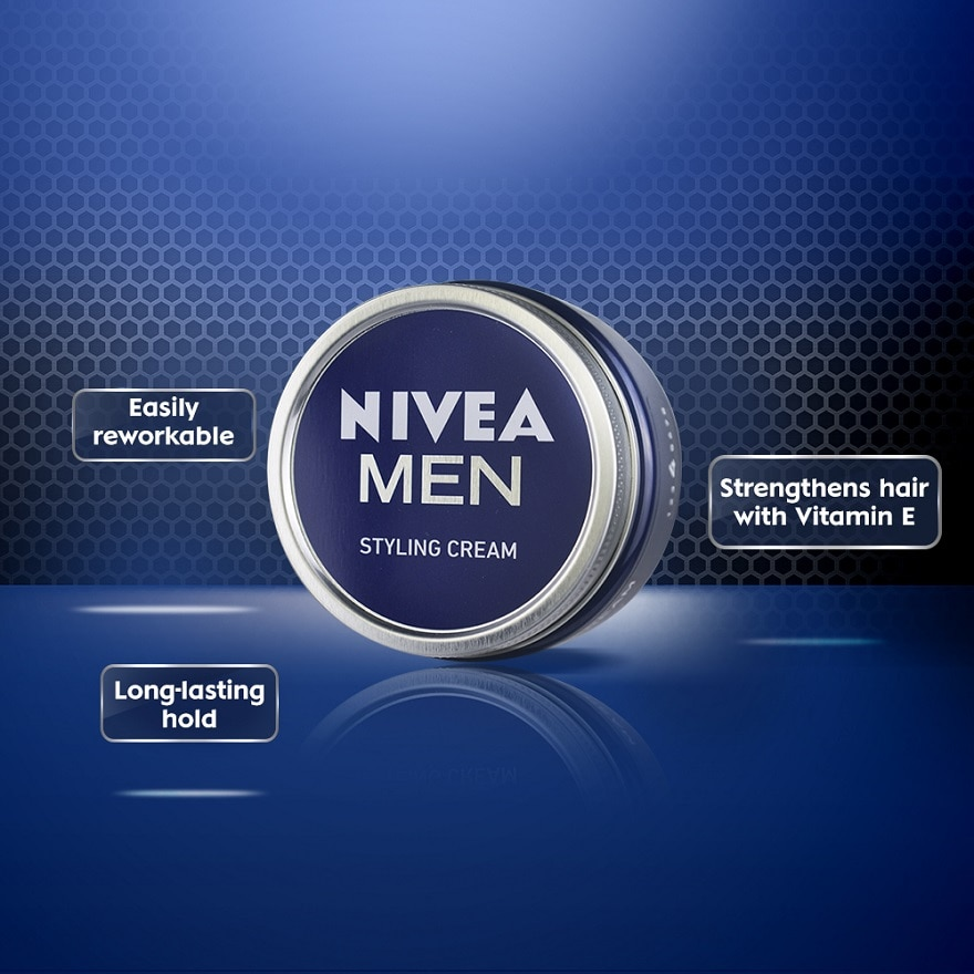 NIVEA FOR MENStyling Cream 150g,PWP @ RM39.90 JULHairspray & Styling Products