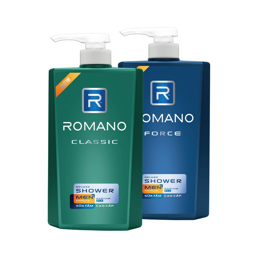 ROMANOClassic Deluxe Shower 650g,GET 2X POINTS TMPGET 2X POINTS TMP