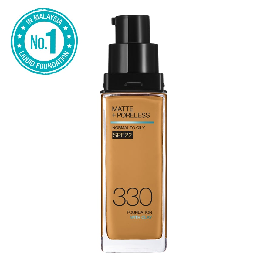 MAYBELLINEFit Me Matte Liq Foundation SPF 330 Toffee,1111cosmeticECOUPON RM10 OFF ECOM