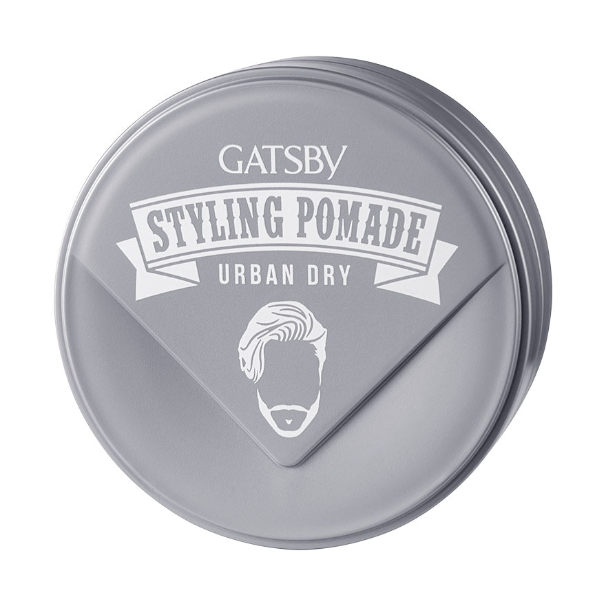 GATSBYUrban Dry Light & Dry Styling Pomade 75g,MBR FREE HOME DELIVERY (EM)MBR ECOUPON RM50 OFF JUN