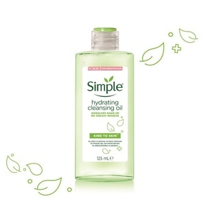 SIMPLEKind to Skin Hydrating Cleansing Oil 125ml,PWP @ 25% AUGECOUPON RM13 OFF