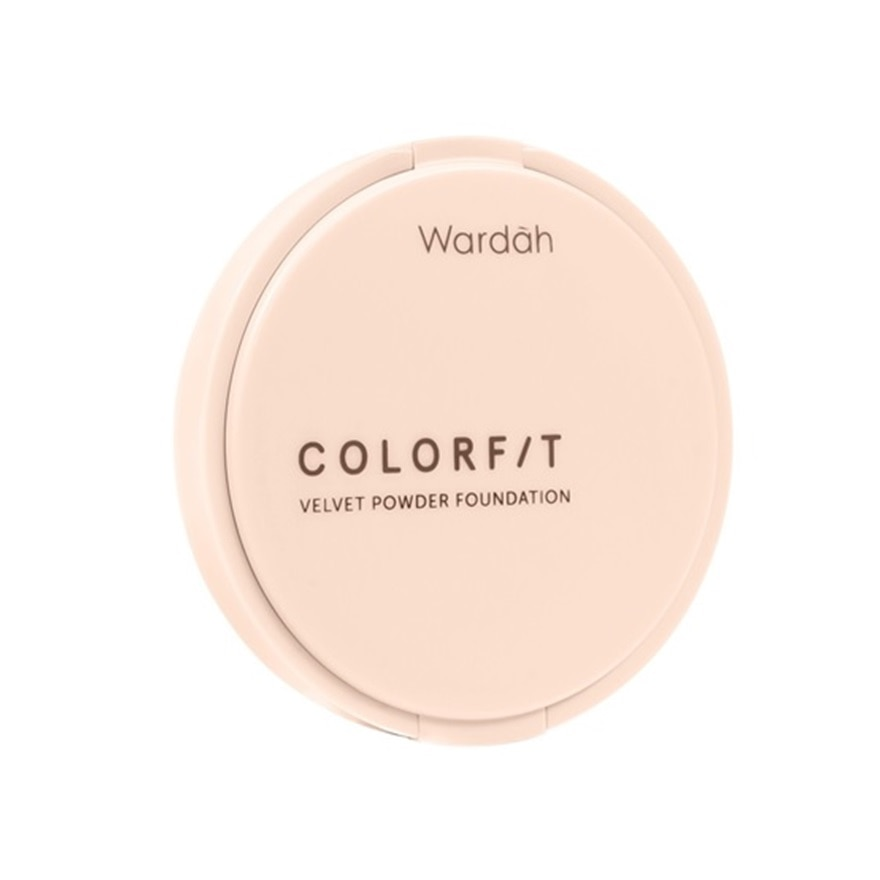 WARDAHClrfit Velvet Powder Foundation 22N Light Ivory,VOUCHER RM5 OFF COSMETICVOUCHER RM5 OFF COSMETIC
