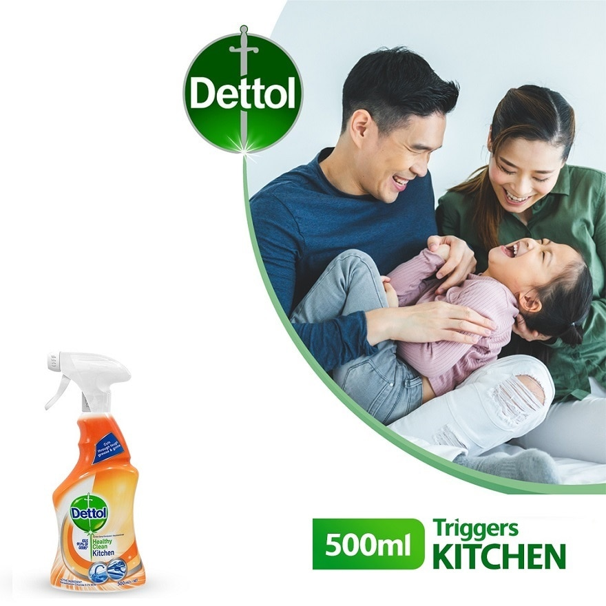DETTOLDETTOL TRIGGER HEALTHY CLEAN KITCHEN 500ML,ECOUPON RM8 OFF DECPOINT REDEMPTION
