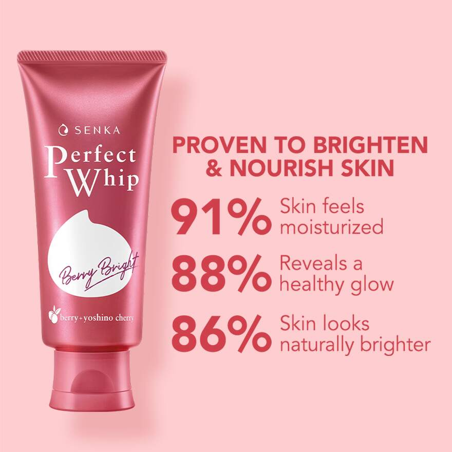 SENKAPerfect Whip Berry Bright 100g,GET 2X POINTS T&G TMPECOUPON RM8 OFF DEC