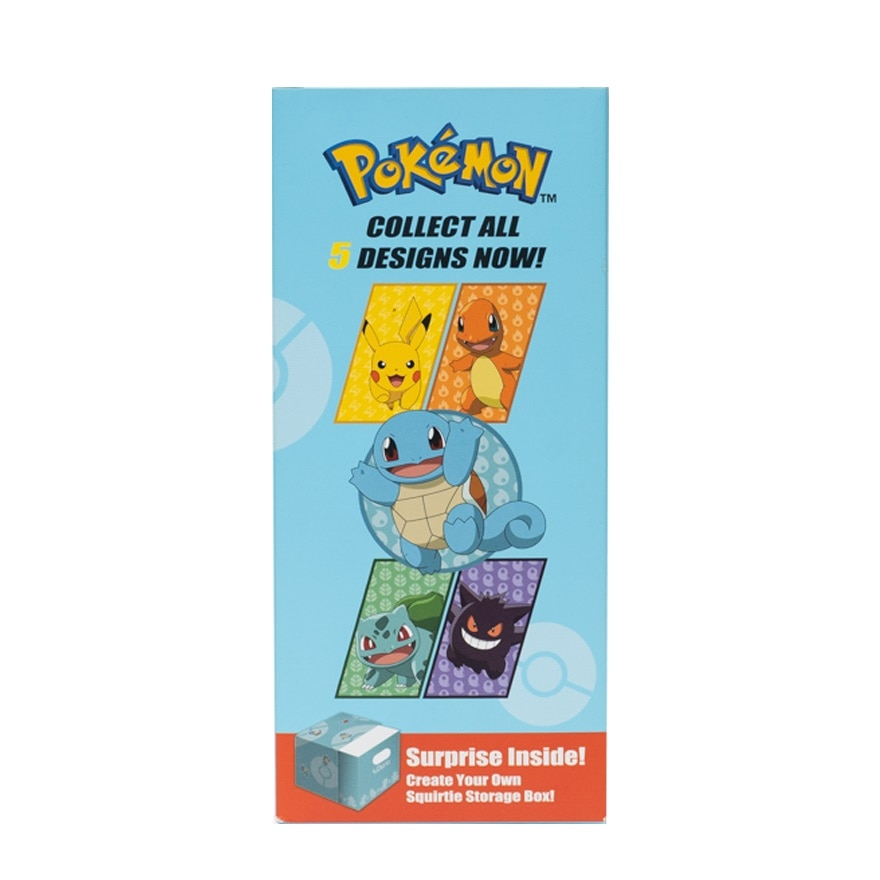 DURIOPOKEMON ADULT 4PLY MASK SQUIRTLE 40'S,ECOUPON RM13 OFF